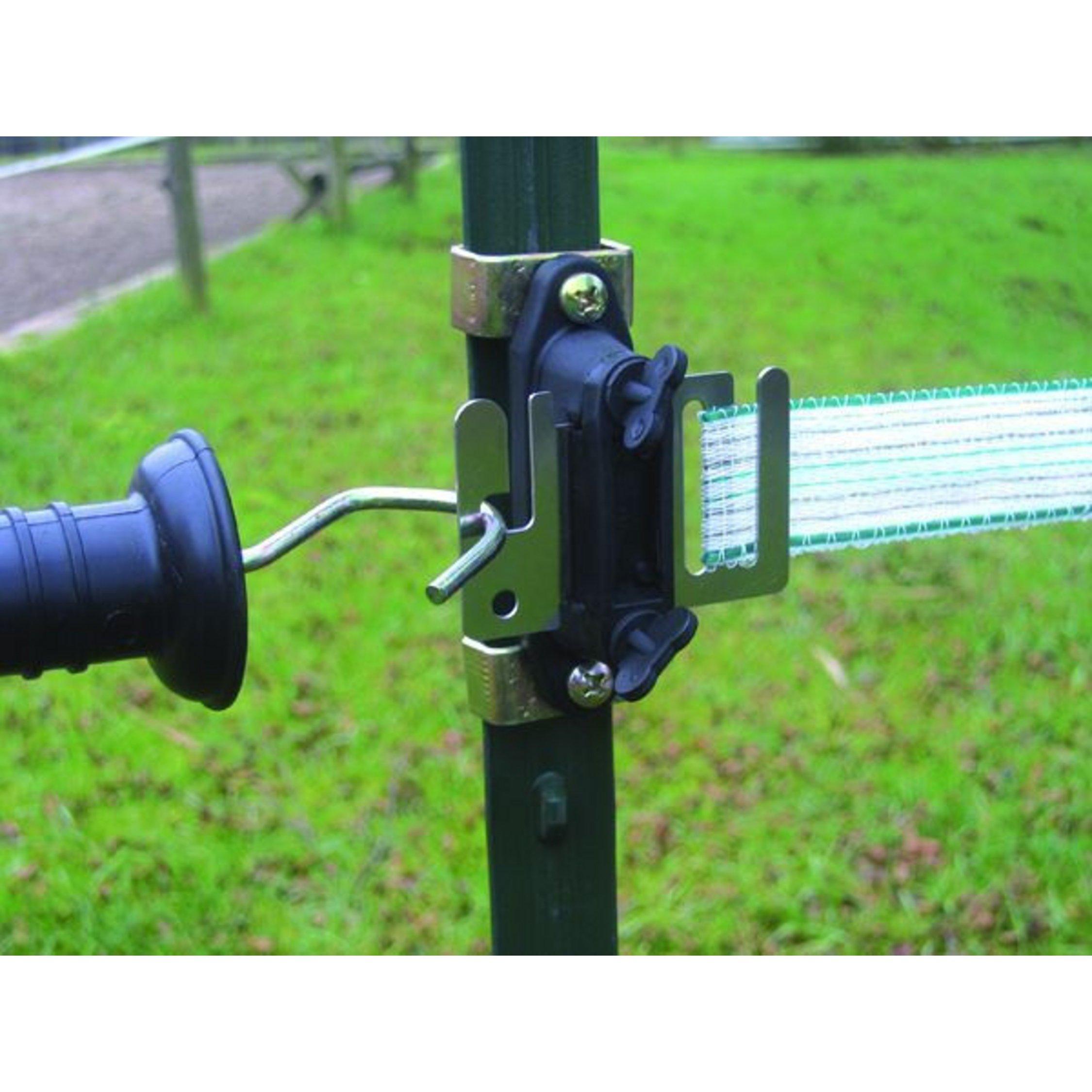 T-Pfosten-Klammer für Holzisolatoren Paar