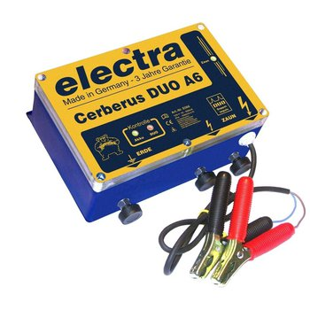 electra Cerberus DUO A6, 12V, 2,0 + 3,0 Joule