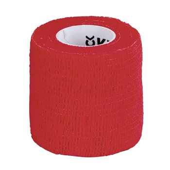 EquiLastic selbsthaftende Bandage, rot, 5 cm breit