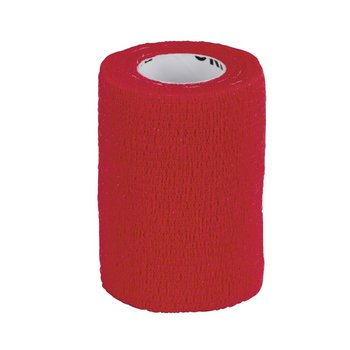 EquiLastic selbsthaftende Bandage, 7,5 cm breit, rot