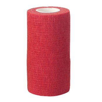 EquiLastic selbsthaftende Bandage, 10 cm rot