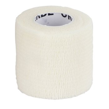 EquiLastic selbsthaftende Bandage, weiß, 5 cm breit