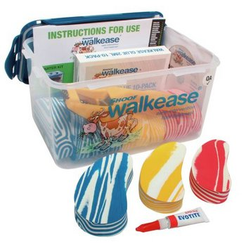 Walkease Starter-Set komplett, Mixed (S/M/L), 10 St./Pkg