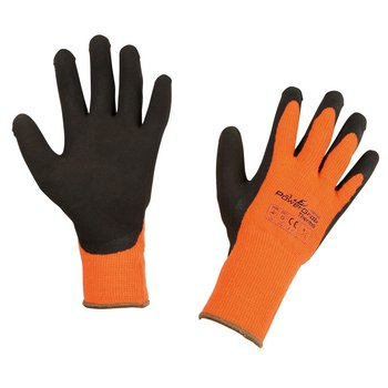 Thermohandschuh TOWA PowerGrab Thermo, orange, Größe 9, Pack mit 6 Paar